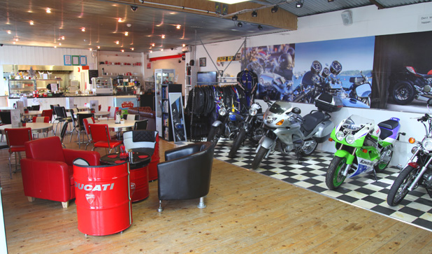 Chequered Flag Cafe Liskeard